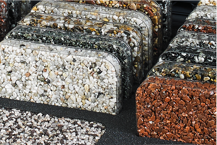 resin driveway colours