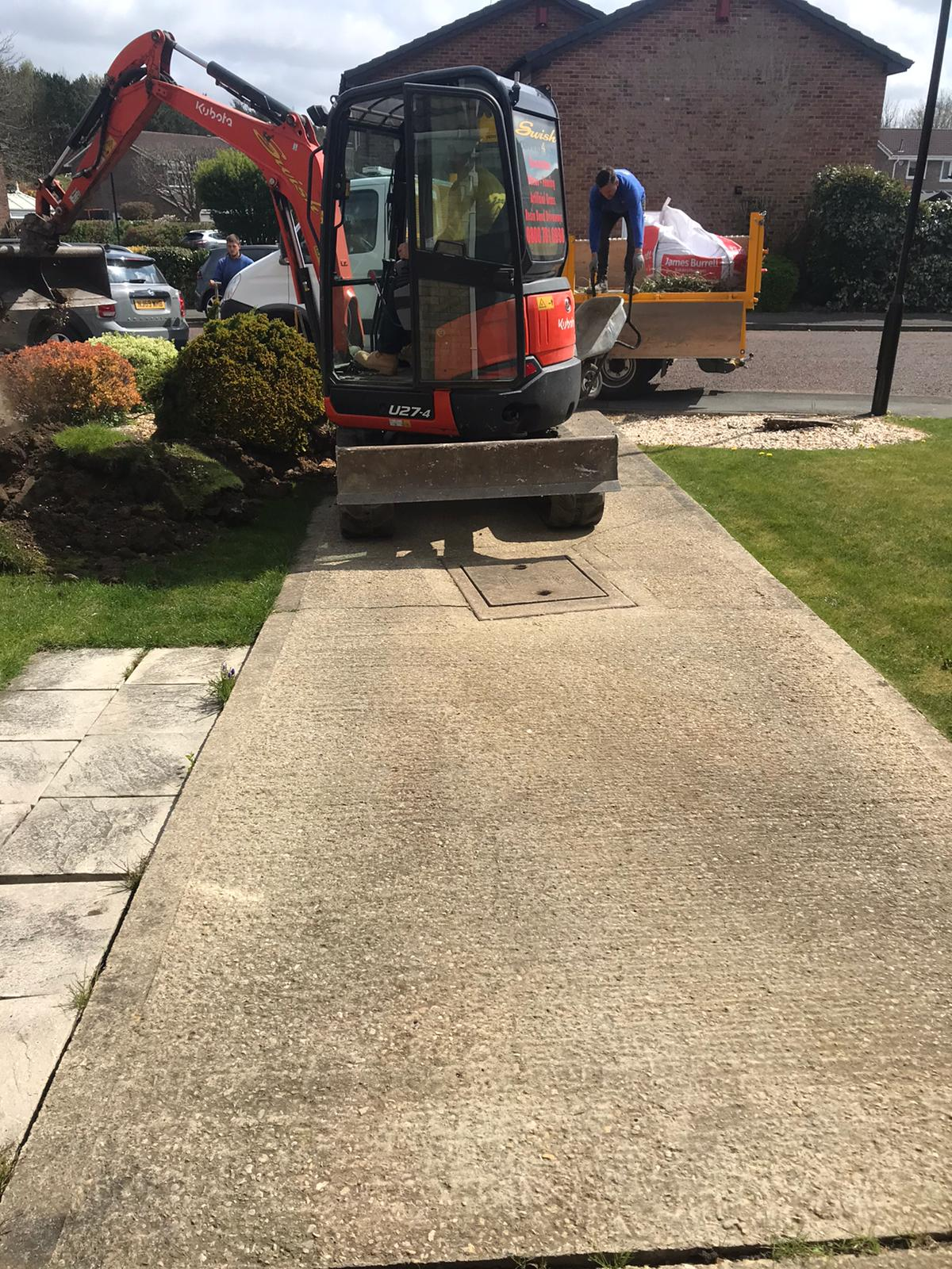 resin driveway gateshead